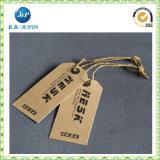 Etiquetas barato impresas de encargo del oscilación del nuevo estilo para la ropa (JP-HT066)