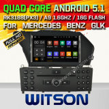Carro DVD GPS do Android 5.1 de Witson para Mercedes-Benz Glk (2008-2010) com sustentação do Internet DVR da ROM WiFi 3G do chipset 1080P 16g (A5708)