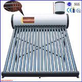 Calefator de água solar pressurizado elevado da bobina de cobre