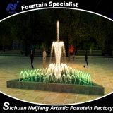 Small Triangle Pool를 위한 음악 Water Fountain