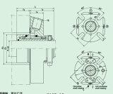 Único selo mecânico da extremidade e do cartucho para o agitador (HQCT)