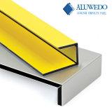 El panel compuesto de aluminio de Aluwedo PVDF