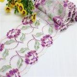 Ajustes/cintas elásticos de nylon del cordón del telar jacquar para la ropa