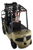 Forklift da gasolina com motor de Nissan 1.5 toneladas a 3.5 toneladas