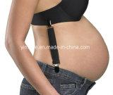 O elástico de maternidade da mulher gravida dos Suspenders apoia Suspenders da roupa