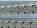 Tubulação preta da estrutura da tubulação de aço do andaime ERW de BS1387 En39 A53