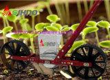 Plantador vegetal do impulso vegetal manual da mão da máquina de semear para a semente de flor