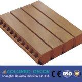 Panneaux de mur en bois d'acoustique de bois de construction de matériaux verts