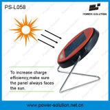 Lámpara de escritorio solar calificada con 2 años de la garantía de Rechargeble de luz de la batería