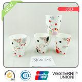 14 oz Vshape taza de cerámica
