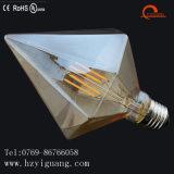 Heizfaden-Birne des Diamant-Form-hohe Lumen-E27 Edison
