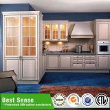Gabinetes de cozinha horizontais do bordo do mel