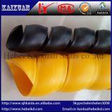 Chaqueta de alta presión de la tubería, funda protectora espiral del aislante de tubo, caja del agua