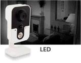 720p HD IRの夜間視界のWiFi IPのカメラ