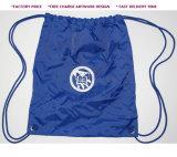 Персонализированная Nylon гимнастика 210d укладывает рюкзак мешок Drawstring