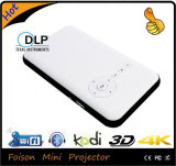 Draagbare LEIDENE van de Projector DLP Androïde Slimme MiniProjector Ingebouwde HDMI WiFi 3D voor Androïde Telefoon