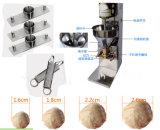 機械肉球機械を形作るエビ球メーカーのミートボール