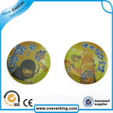 Pin di Buttons Lapel di campagna con Football Printed