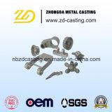 Peças de automóvel da carcaça da precisão do OEM de China com o zinco chapeado