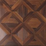 Настил ламината древесины Teak текстуры Woodgrain планки винила навощенный грецким орехом окаимленный