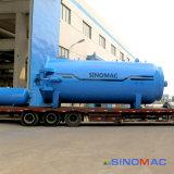 реактор Ce 2000X4500mm Approved промышленный стеклянный прокатывая (SN-BGF2045)