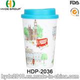 コーヒー(HDP-2036)のための350ml二重壁によって印刷されるコップ