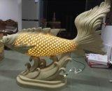 Zandsteen die LEIDENE van het Beeldhouwwerk van het Standbeeld Aminal Lichte Lantaarn met Luidsprekers snijden