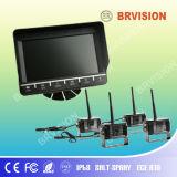 7 LCD van de Kleur van de duim het Systeem van de Camera van het Voertuig van de Vierling