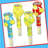 Het grappige Stuk speelgoed van de Ventilator van Jonge geitjes met de Zoete Buis van het Suikergoed