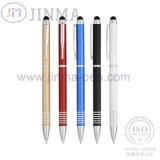 Le crayon lecteur de bille de cuivre chaud de cadeaux de promotion Jm-3044