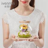 Flor de la promoción con la luz para el regalo de la decoración