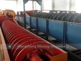 Rondelle de classificateur de sable de spirale de machine de construction