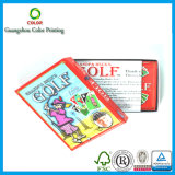 Печатание карточки игры оптовых продаж изготовленный на заказ в Китае