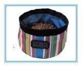 Водоустойчивый складной Nylon шар собачьей еды, шар животных