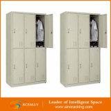 2016 Türen des Schule-Gymnastik-Polizei-Militärsupermarkt-2/4/6/8/12 Wholesale Schließfächer