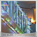 高いQualtiy LEDのクリスマスストリング花輪ライト