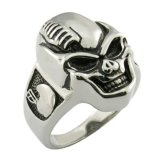 De Ring van de Ridder van het Kristal van de Juwelen van het Roestvrij staal van de fabriek