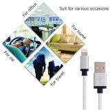 Foudre de remplissage du cordon 8pin de chargeur de synchro de caractéristiques de câble de tresse en nylon au câble usb