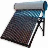 Integrierter Wärme-Rohr-Vakuumgefäß-unter Druck gesetzter Solarwarmwasserbereiter