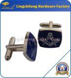Mancuernas masónicas del bulto de la insignia del esmalte duro
