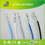 Ethernet à grande vitesse 4 paires d'UTP Cat5e de câble LAN