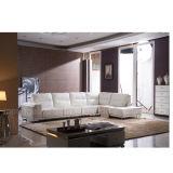 Sofá de couro secional Home moderno (891#)