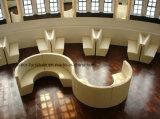 (SD-4006) Ristorante moderno dell'hotel che pranza il sofà di legno della cabina della mobilia
