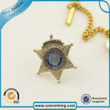 Gold Supplier Factory Price Experience Custom Metal Police Badge