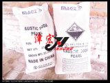 Pérolas enormes da soda cáustica do saco 99% (1000kg/bag)