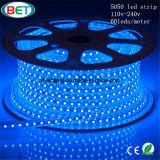 ETL 110V 220V 5050 LED Streifen-Licht-weißes Weihnachten im Freien