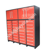 7FT Heavy Duty 32 Drawer Tool Storage Cabinet with Doors
