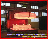 Horno de la calefacción para la losa de cobre