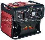 Generador portable de la gasolina de 1kw 2.5HP / 3000rpm con Ce, certificado de GS