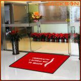 Nattes de porte adaptées aux besoins du client antidérapantes de mode de natte d'entrée de natte fraîche de pied